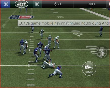 Game thể thao Madden NFL Overdrive Football