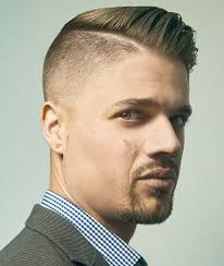 Kiểu tóc nam Undercut Side Part Comb Over