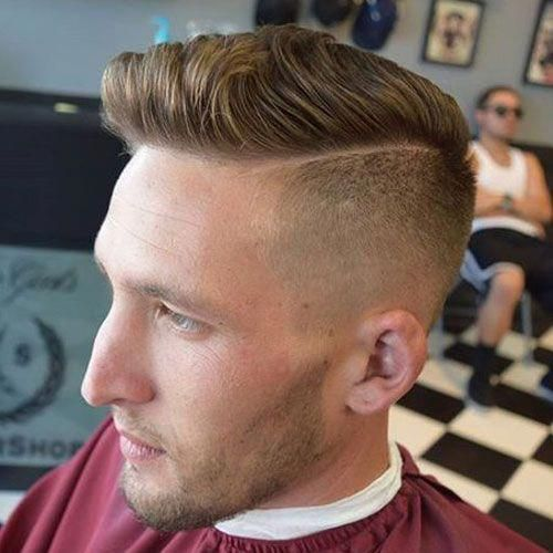 Kiểu tóc nam Undercut Side Part