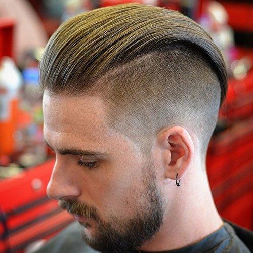 Kiểu tóc nam Undercut Slicked Back
