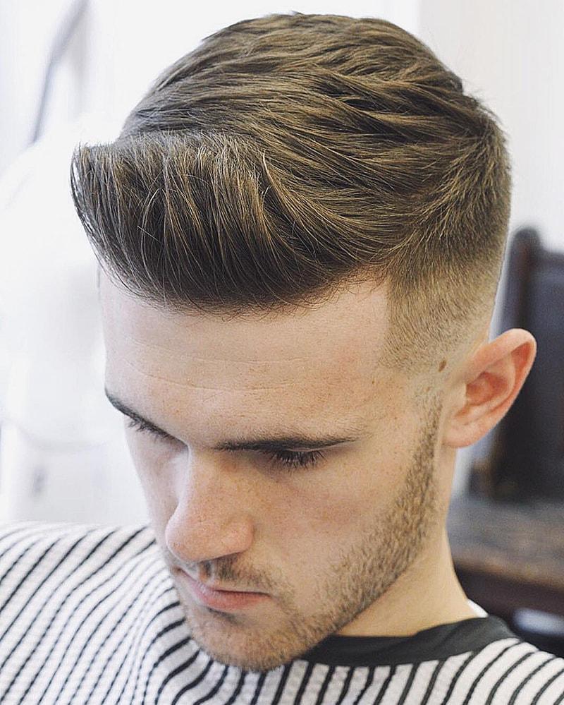 Kiểu tóc nam Undercut Textured Messy Hair