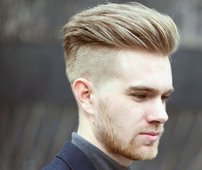 Kiểu tóc nam Undercut Quiff