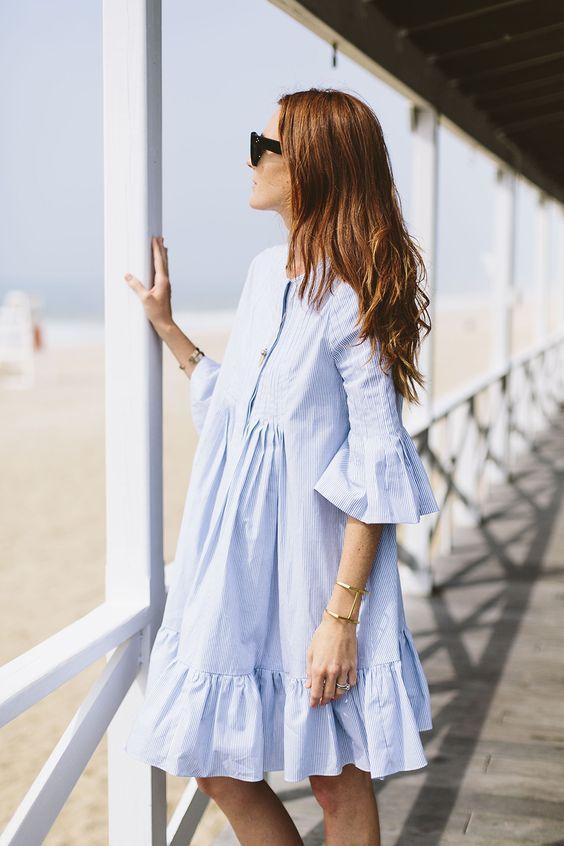 Một chiếc váy sơmi babydoll sẽ là trang phục hoàn hảo để bạn đi đến bất cứ đâu nơi công sở hay là một buổi café hò hẹn cuối tuần với người ấy mà vẫn giấu đi được khuyết điểm của mình
