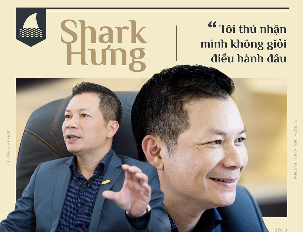 Tiểu sử Shark Hưng