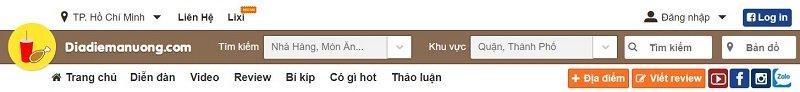 review-trang-web-am-thuc-dia-diem-an-uong