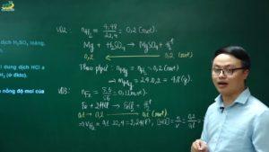 Cách giải bài toán theo phương trình hoá học