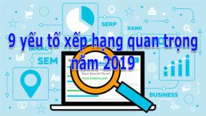 SEO Nam Nguyễn chia sẻ 9 yếu tố xếp hạng Google năm 2019