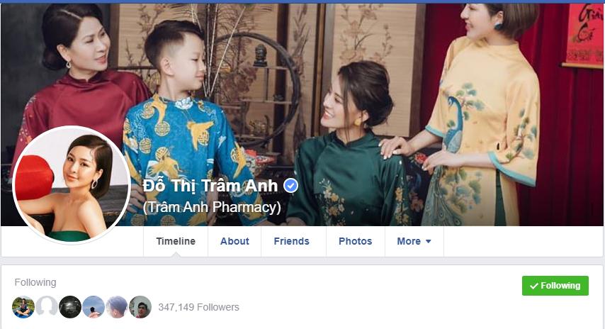 Hot Girl Trâm Anh sau scandal lộ clip sex và lượt follow tăng chóng mặt, cùng dấu tích xanh chứng nhận của Facebook