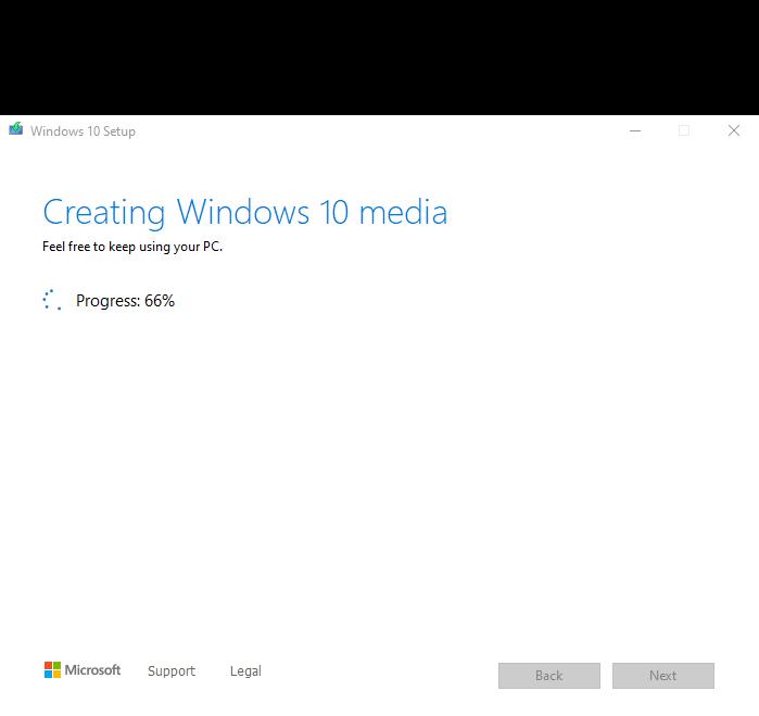 Hướng Dẫn Tạo USB/CD cài đặt Windows 10 [bước 2]
